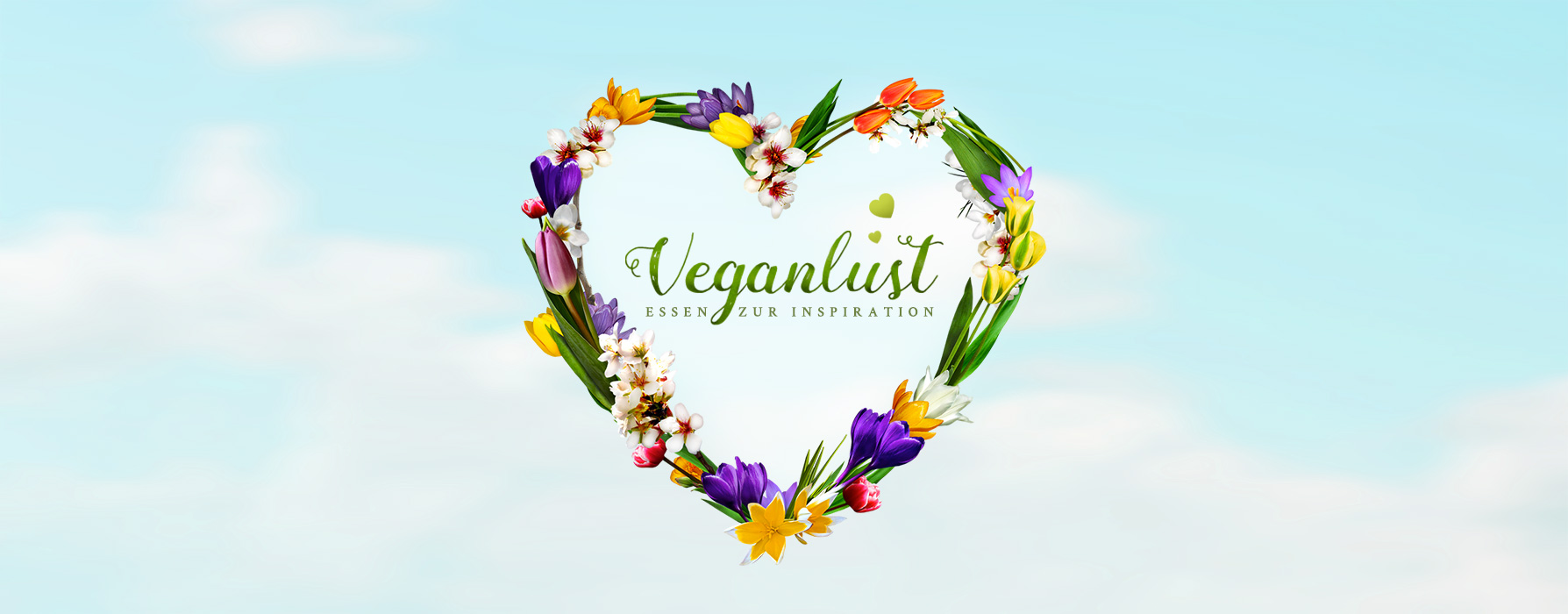 Veganlust website cover by Mediavuk