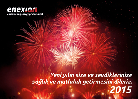 enexion new year 2015 banner design by Mediavuk